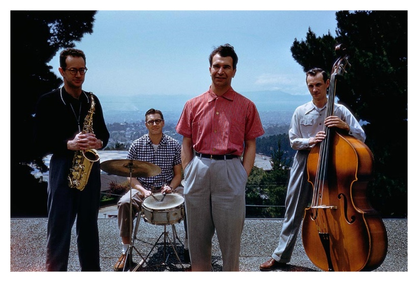 dave-brubeck-quartet-1956-by-marvin-koner