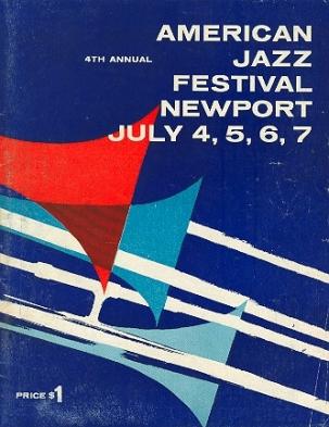 1957 Newport Jazz program